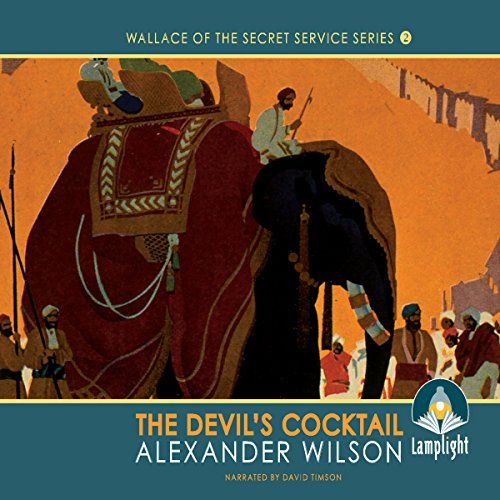 The Devil's Cocktail audiobook cover art
