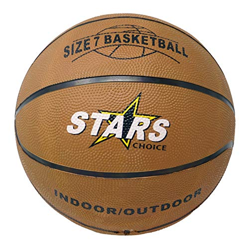Lowest Prices! Valuue Basketball Ball Star Choice Official Weight Size 7 Outdoor Moderate Use Select