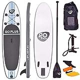 COSTWAY Tavola da Surf Gonfiabile, Stand Up Paddle Board, Pompa e Zaino Inclusi, 305 x 76 ...