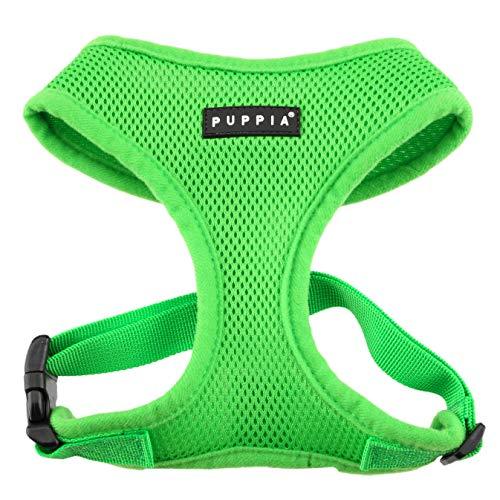 Puppia Soft Harness, M, Green