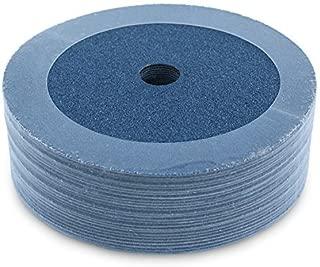 Black Hawk Zirconia Resin Fiber Grinding & Sanding Discs, 60 Grit, 7-Inch x 7/8-Inch Arbor, Pack of 25