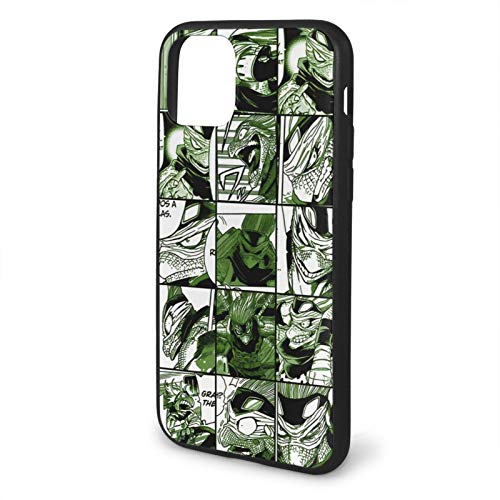 Spinner Collage My Hero Academia Cell Phone Shell Compatible with iPhone 11 Pro MAX Rubber Glossy Shockproof Unique