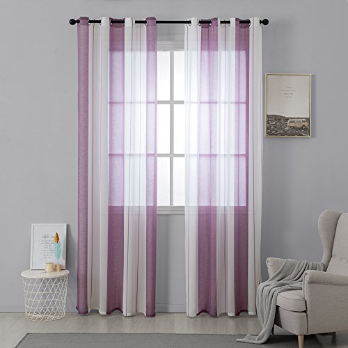 cortinas habitacion cortas niña