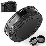 Camera Body Cap and Lens Rear Cap Cover...