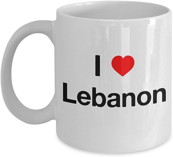 Lebanon Flag Mug 11oz