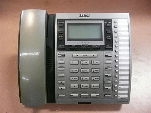 RCA GE Thompson 25415RE3 4-Line Corded Telephone with Answer Machine