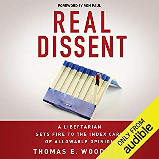 Real Dissent audiobook cover art