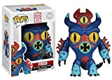 "Funko Pop . Disney : Big Hero 6-fred action figure 'Size : ""3 3/4"" H "" 'Color : blue, Red, Yellow, Black """