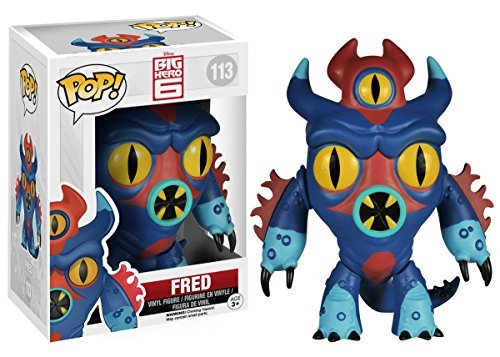 Funko POP! Disney: Big Hero 6-Fred Action Figure by FunKo