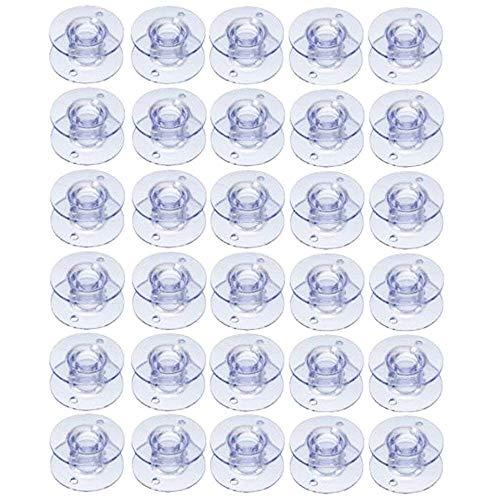 DIVISTAR Style SA156 Lot de 30 bobines pour machine à coudre Brother