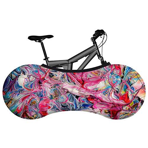KHXJYC Funda Protectora para Bicicletas, De Alta Elasticidad, Impermeable Y De Secado RáPido, Apta para Bicicletas De MontañA, De Carretera Y Plegables, Lavable,#19