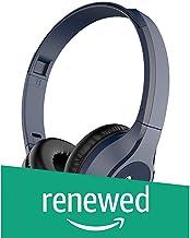 (Renewed) Infinity (JBL) Glide 500 Wireless On-Ear Dual EQ Deep Bass Headphones with Mic (Mystic Blue)