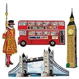 Beistle 55516 British Ausschnitte, 16-Zoll, 4er Pack