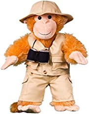 """Safari Outfit Teddy Bear Clothes Fits Most 8\\""""-10\\"""" Build-A-Bear Buddies and Make Your Own Stuffed Animals"""