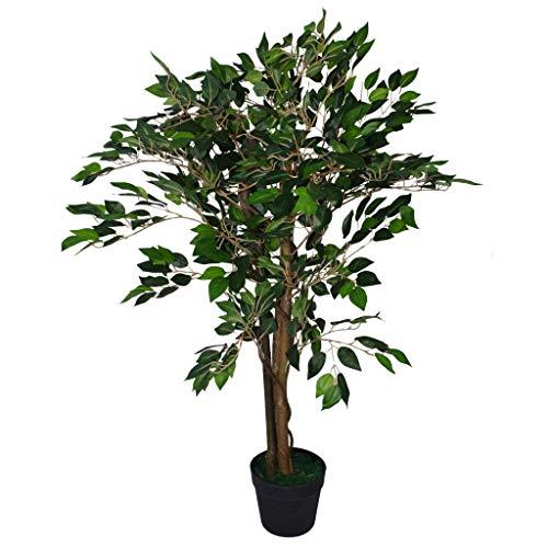 Blad Kunstmatig 90cm Plant Groot, Donker Groen Ficus