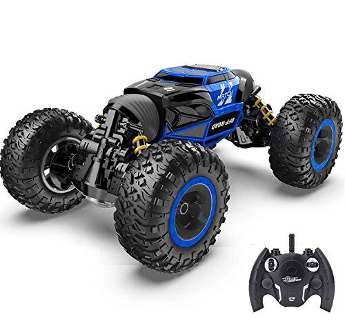 Darenbp Rc auto kinder spielzeug off road fernbedienung auto 2.4ghz 4wd elektrische motoren fahrzeuge buggy hobby...