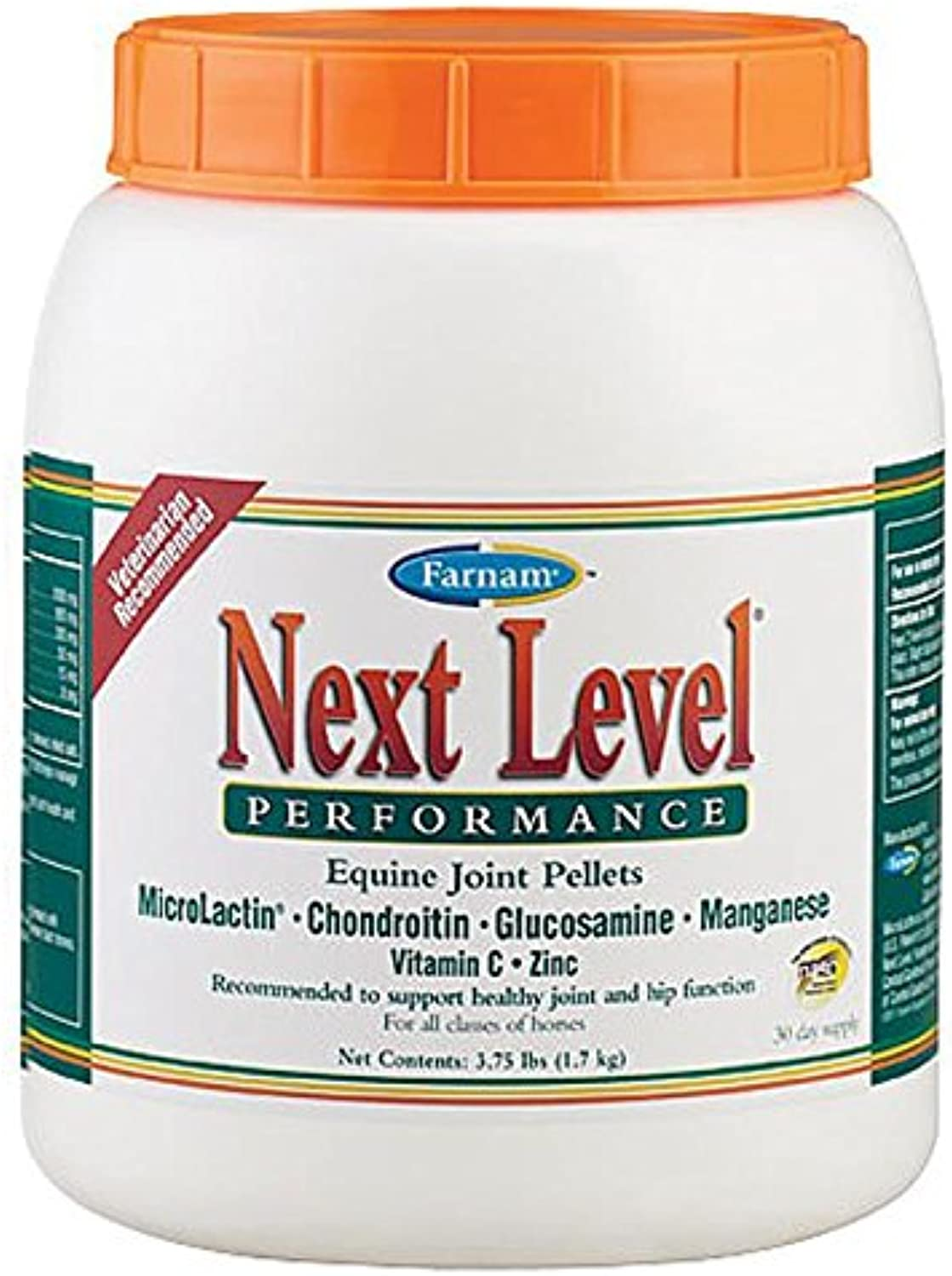 Farnam Next Level Performance Equine Joint Pellet, 3.75Pound
