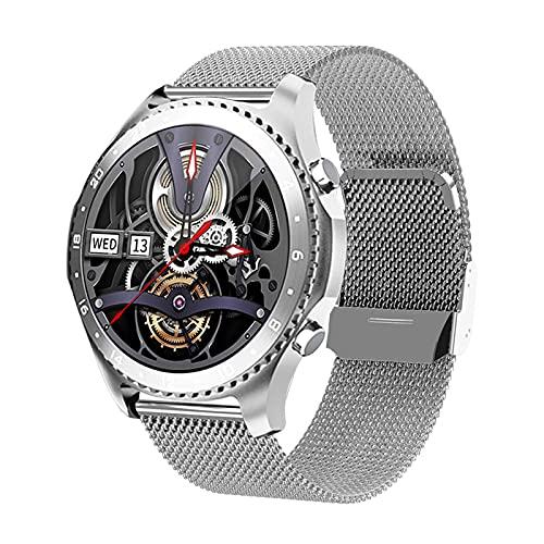 shjjyp Relojes Inteligente Hombre Smartwatch con Llamadas PulsóMetro PresióN Arterial Monito De SueñO PodóMetro Pulsera Reloj Impermeable Ip67 para Android iOS Y Xiaomi Huawei iPhone,6