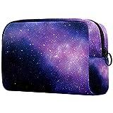Toiletry Bag/Makeup Organizer/Cosmetic Bag/Portable Travel Kit Organizer/Household Storage Pack/Bathroom Storage Starry Sky Purple