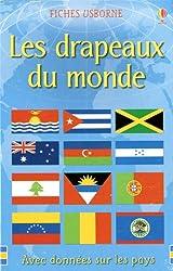 Boite de cartes Les drapeaux de monde
