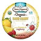 Torie and Howard Organic Hard Candy Lemon and Raspberry, 2 Ounce
