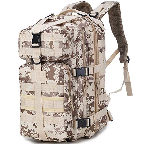 Tactical Backpack 55-Liter Large Capacity Hiking Backpack Large Military Backpack Used For Camping Hunting Hiking Military Travel G