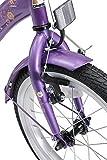 BIKESTAR Kinderfahrrad für Mädchen ab 4-5 Jahre   16 Zoll Kinderrad Classic   Fahrrad für Kinder Lila & Weiß   Risikofrei Testen - 8