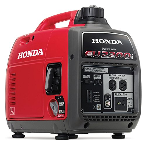 Mejor Honda Super Quiet Gasoline Portable Generator with Inverter (EU3000IS1A 3000Watt Electric Start Inverter) crítica 2020