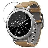 Vaxson 3-Pack Vetro Temperato Pellicola Protettiva, compatibile con LG Watch Style Smart Watch, 9H Screen Protector Film Nuova versione