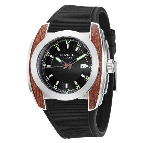 Breil Milano Men's BW0374 Mediterraneo Analog Black Dial Watch