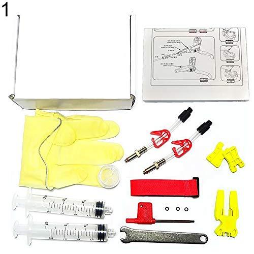 YSHTAN - Kit de herramientas de purga de bicicleta, mantenimiento y herramientas,...