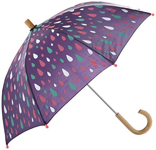 Hatley Mädchen Printed Umbrellas Regenschirm, Stormy Days, One size