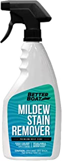 Better Boat Mildew Remover Stain Remover Cleaner Seats Fabric Vinyl Mold Stain Removal