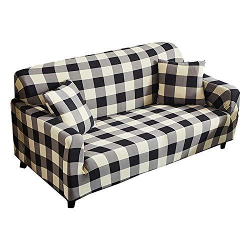 Funda de sofá elástica elástica de 1/2/3/4 plazas, Todo Incluido, Protector elástico a Prueba de Polvo, Fundas para sillón, Funda para sofá para Sala de Estar-mi_Cubierta de 1 plazas
