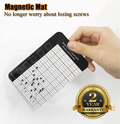 Precision Screwdriver Set Magnetic - Mini 124 in1 Professional Screw driver Tools Sets PC Repair Kit for Mobile Phone Tablet Computer Watch Camera Eyeglasses Electronic Devices DIY Hand Work