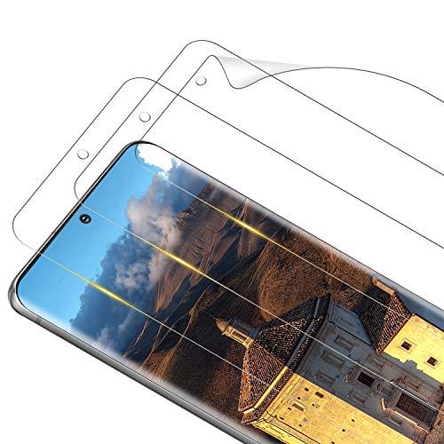 RIIMUHIR [3 pezzi] Pellicola Protettiva per Samsung Galaxy S20, Morbido TPU Pellicola Protettiva Ultra Trasparente, Anti-bolle, Anti-olio, Alta Sensibilità, Samsung S20