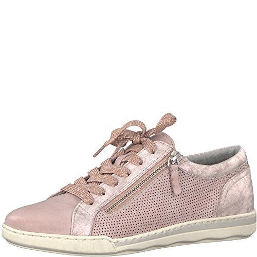 Tamaris Damen 23619 Low-top Sneaker, Pink (Rose Comb), 41 EU