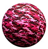 Horsemen's Pride 25-Inch Mega Ball Cover for Horses, Pink Camo Pattern