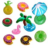 NYRWANA Inflatable Fruit Shape Drink Holders, Inflatable Pool Floats, Inflatable Pool Party Drink