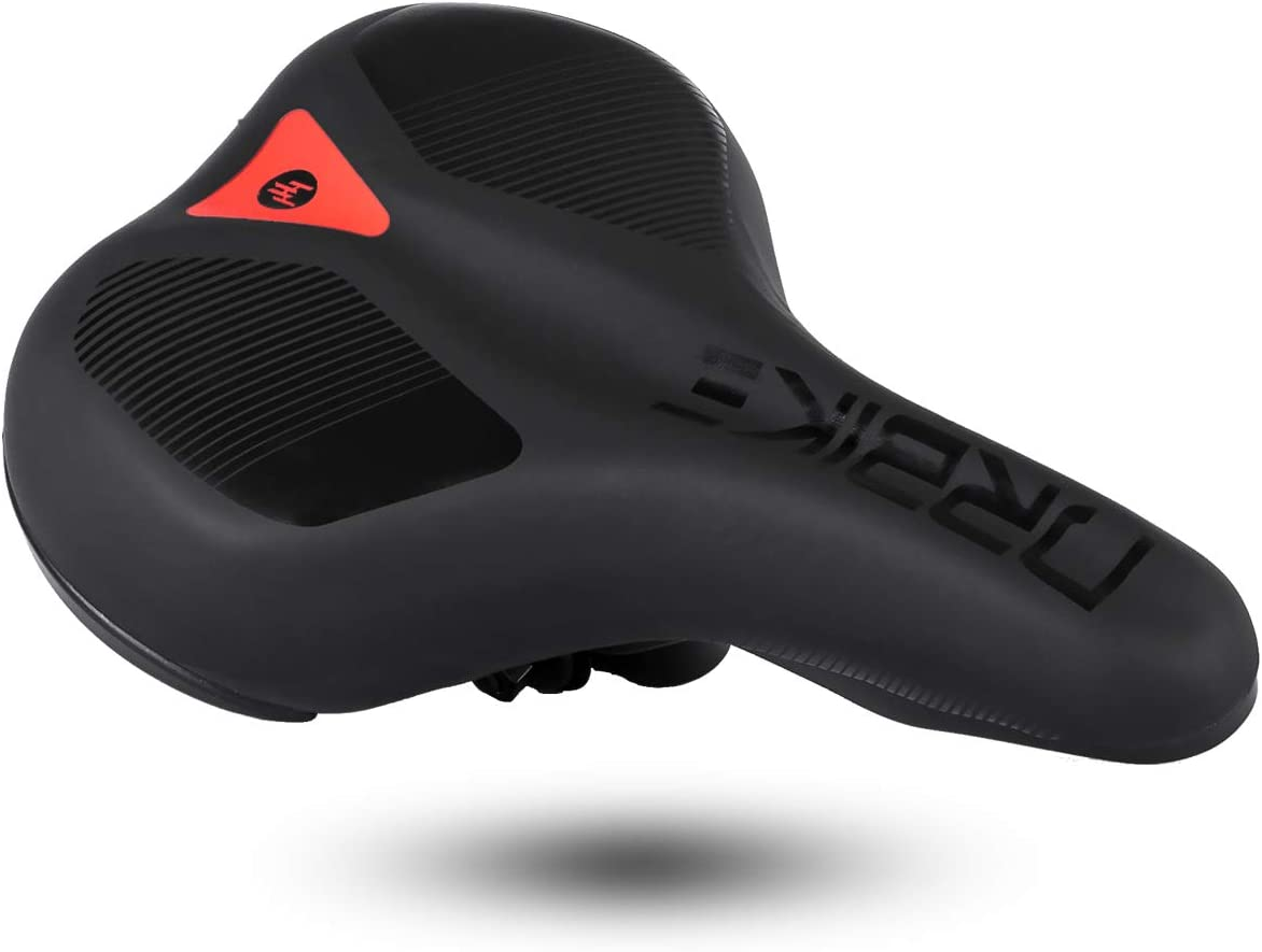 Hiland Bicycle Saddle Seat with Rain//dust Cover