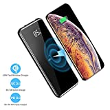Wireless Portable Charger Power Bank 10000mAh,18W Fast Charging QC 3.0& PD 3.0 Battery Bank,4 Outputs&Dual Inputs,External Battery Pack for Cellphones,iPhone,Samsung,iPad,Tablets and More