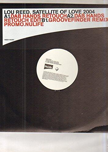 LOU REED - SATELLITE OF LOVE - 12 inch vinyl record