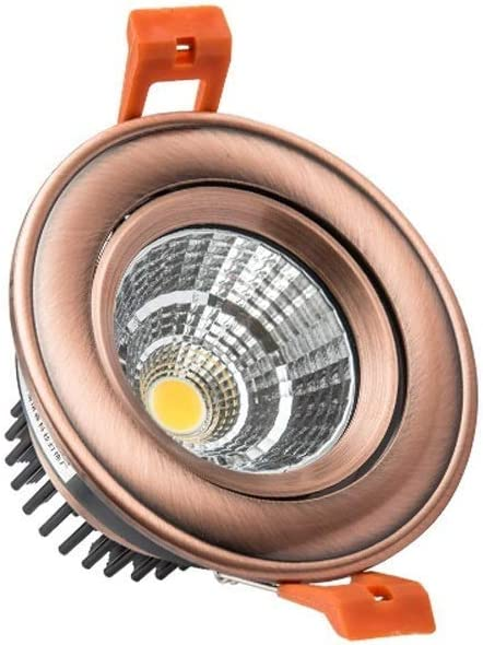 Ceakep Bronze Limited time Oakland Mall trial price Rose Gold Downlight Embedded American Down Retro