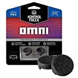 Omni Performance Thumbsticks for PlayStation 4 (PS4)   2 Low Rise, Concave   Black