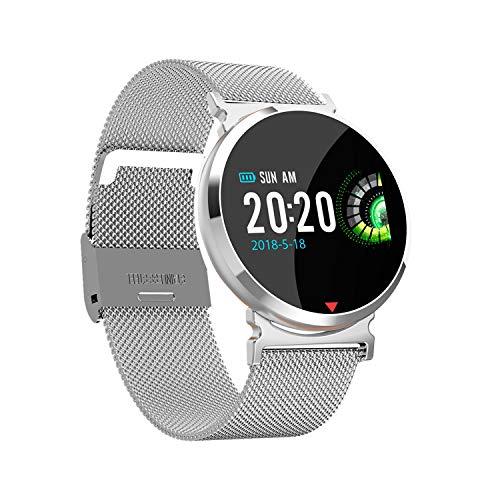 LUGEUK Bluetooth foto armband gebogen scherm stap teller waterdichte oproep herinnering slimme armband horloge