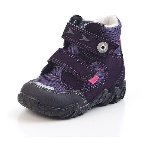 RICOSTA – Enfant Unisexe Berti (W) Première Chaussures de Marche - Violet - Pflaume, 28 EU