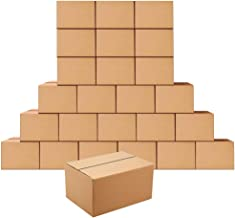 Shipping Boxes 10 x 7 x 5 inches Corrugated Cardboard Boxes for Shipping Package, 25 Pack