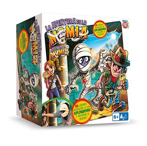 IMC Toys Play Fun, La Aventura de la Momia, Español (90057) , color/modelo surtido
