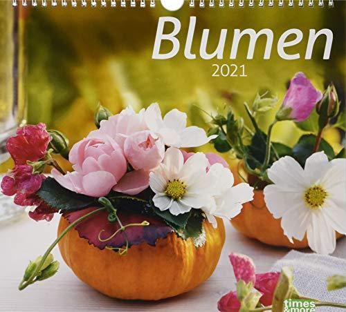 times&more Blumen Bildkalender Kalender 2021