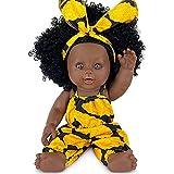 Poupée Noire Afro-américaine Réalistes 12 Pouces Bébé Poupées pour Enfants Jouets pour Enfants